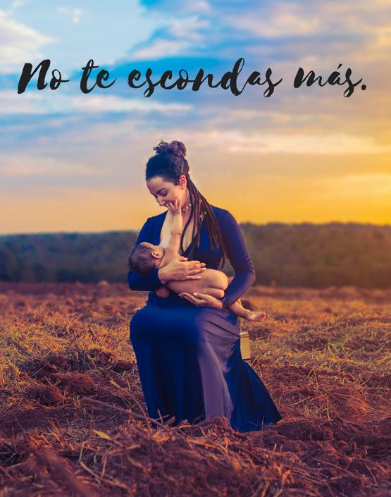 No te escondas más: Amamanta a tu bebé en público